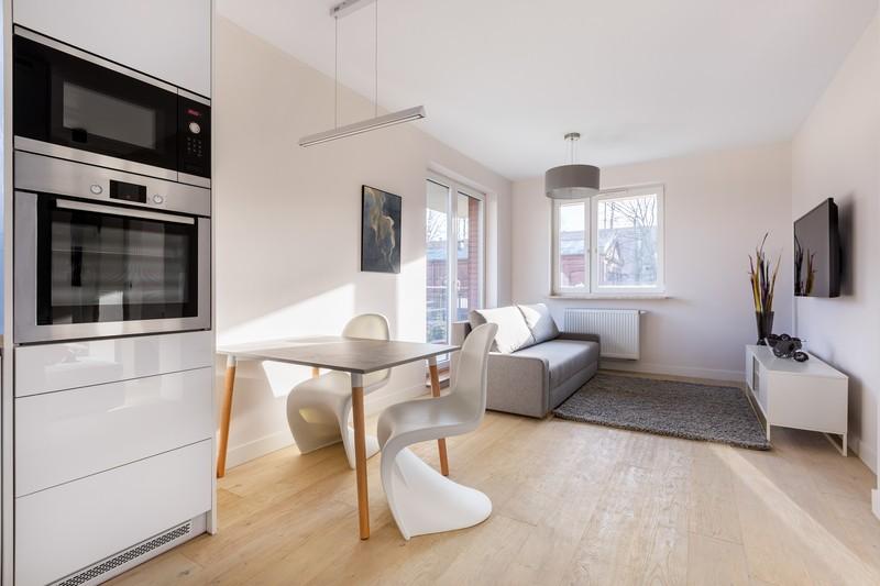 Kicsi konyha nappali egyben